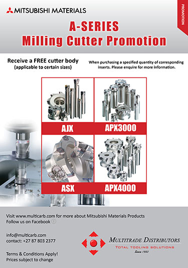 A-Series Milling Cutter Promotion