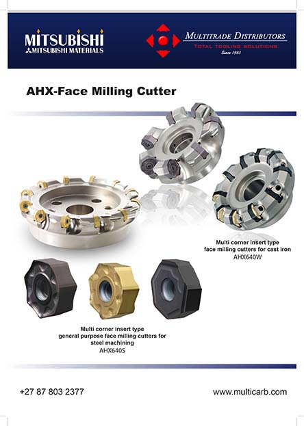 AHX-Face Milling Cutter