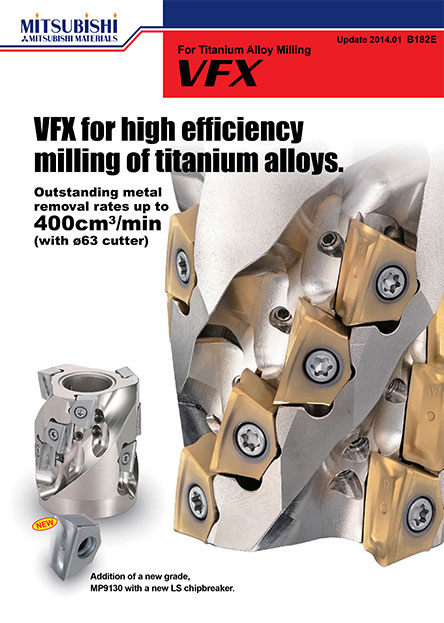 FX-For Titanium Alloy Milling