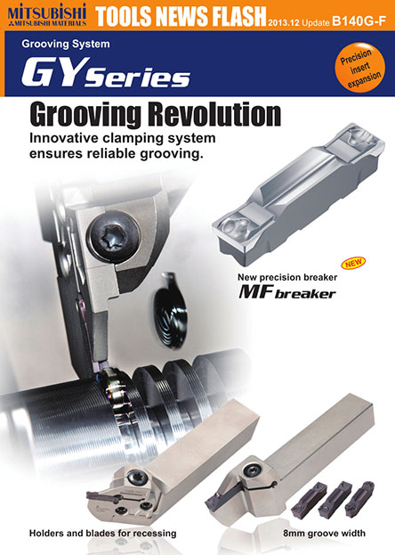GY Series Grooving Revolution